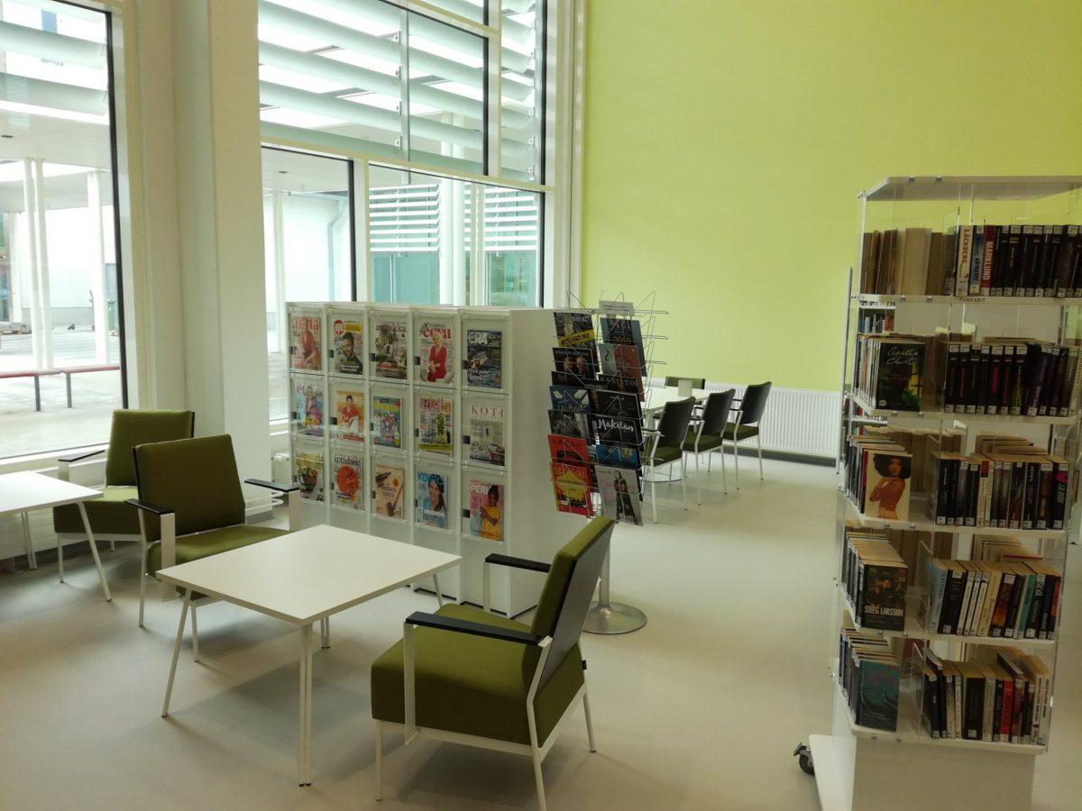 Itätuulen kirjasto avattu Porissa